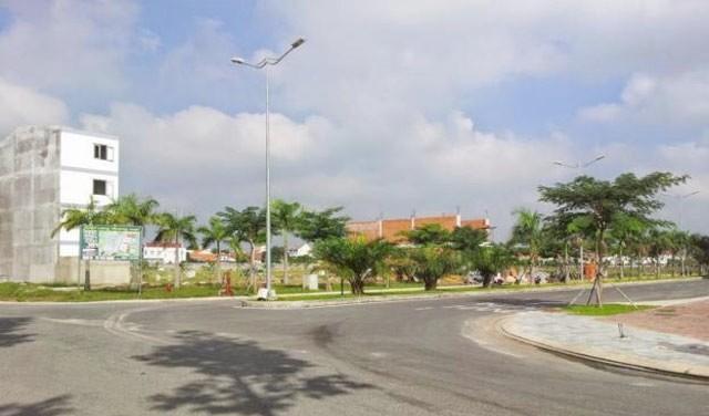 Hình ảnh thực tế đất nền Green Home Riverside
