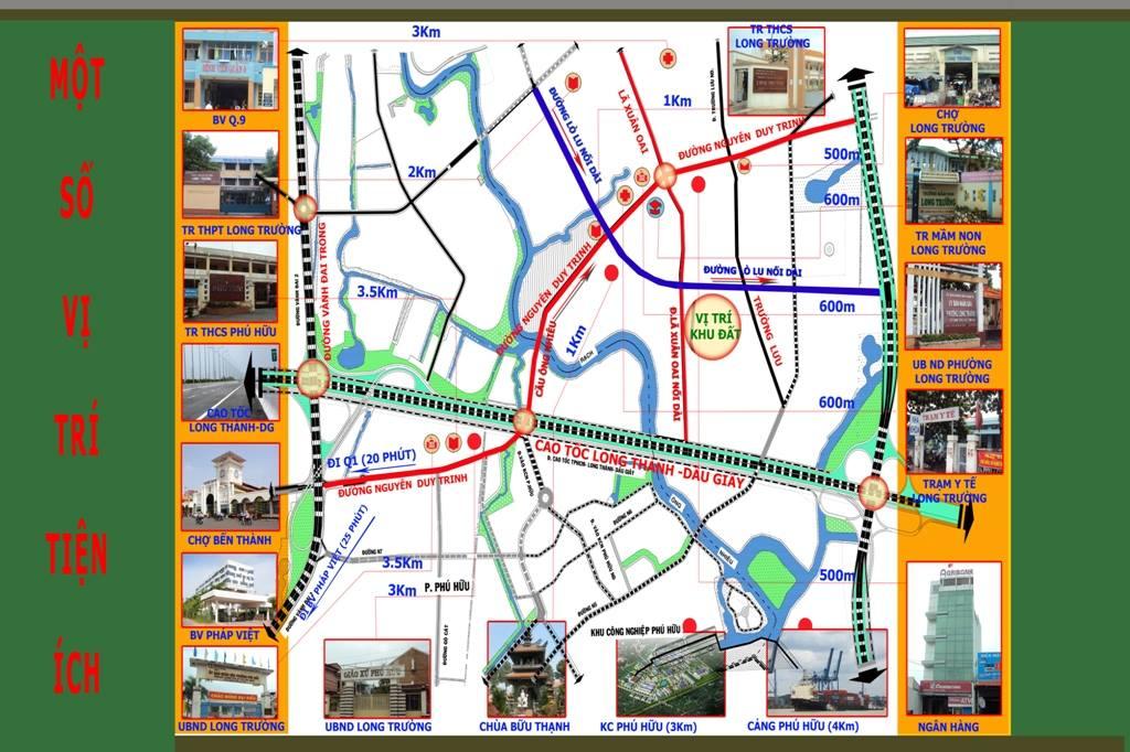 Vị trí Trường Lưu Riverside