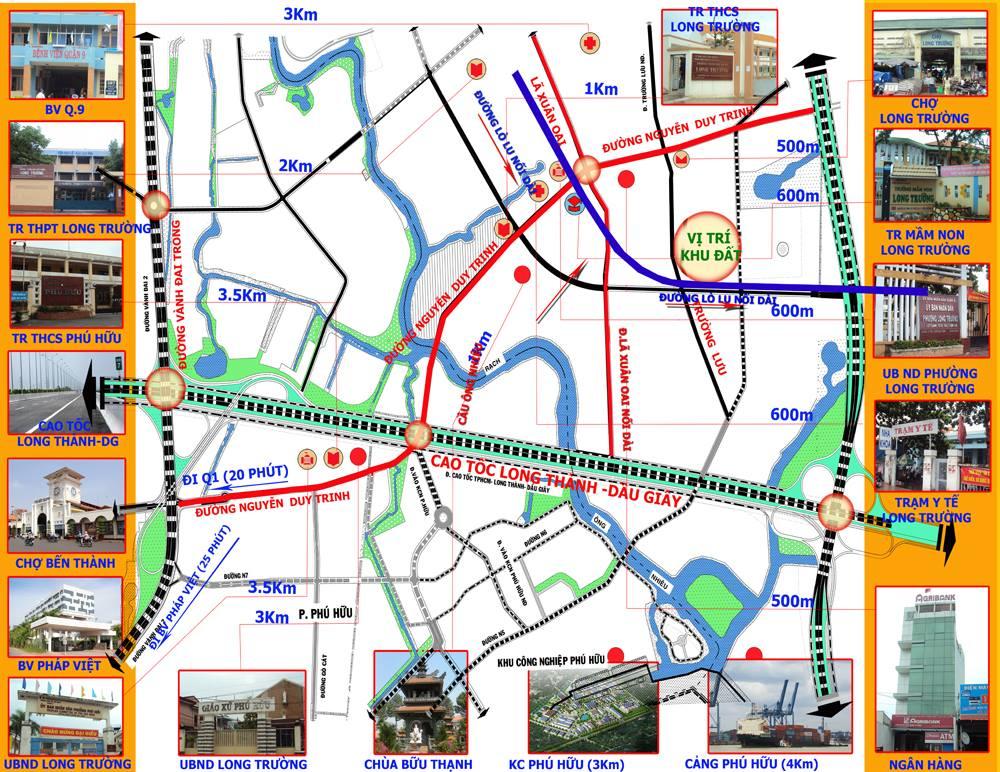 Vị trí dự án đất nền Việt Nhân eco2