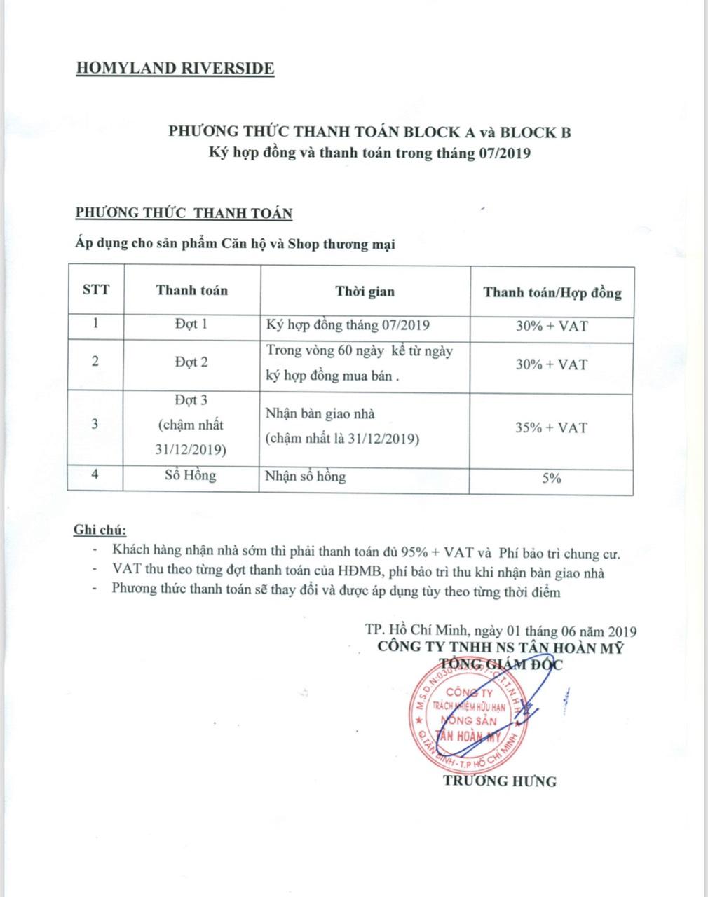 phuong thuc thanh toan homyland 3