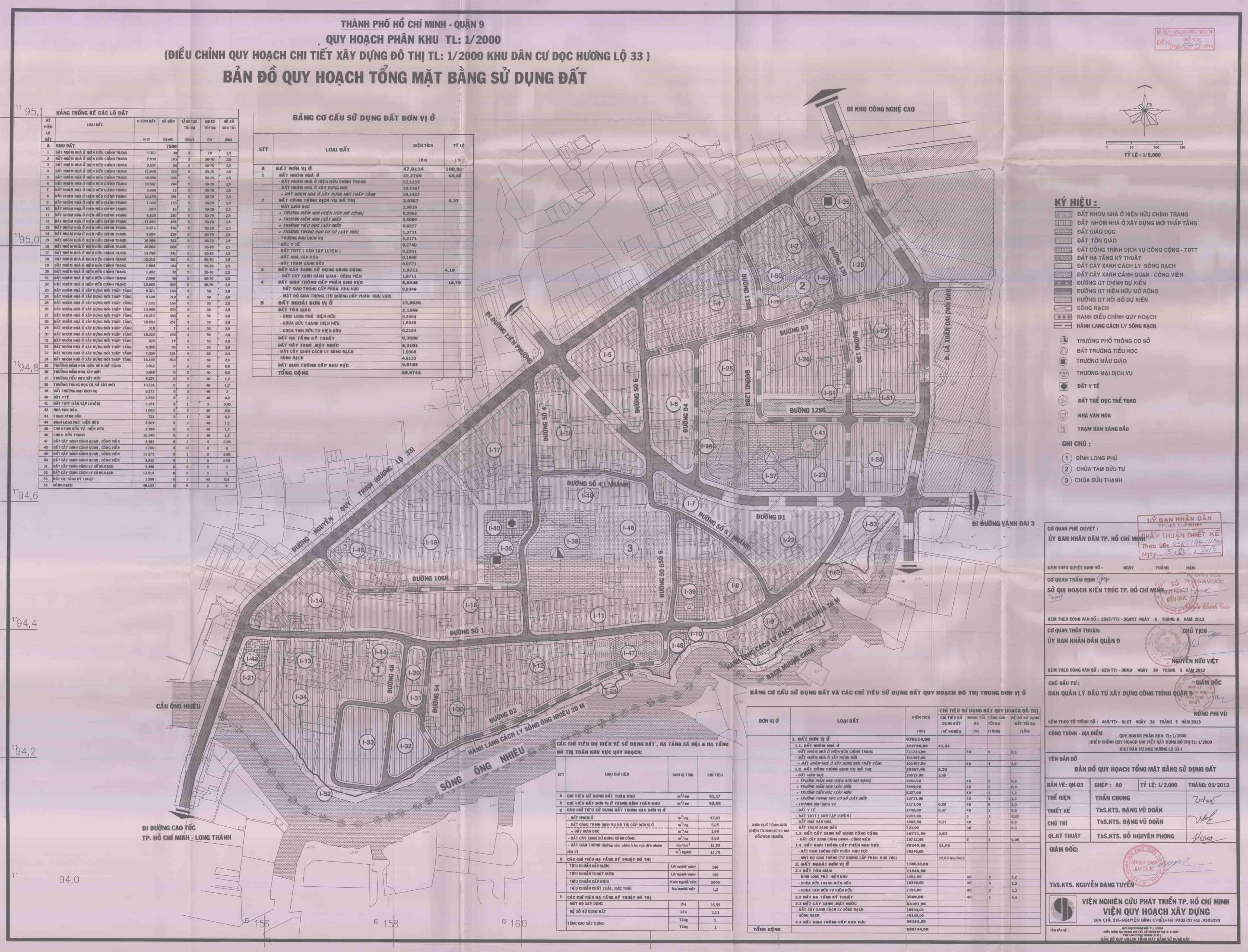 Khu dân cư Long Trường dọc Hương lộ 33, Quận 9
