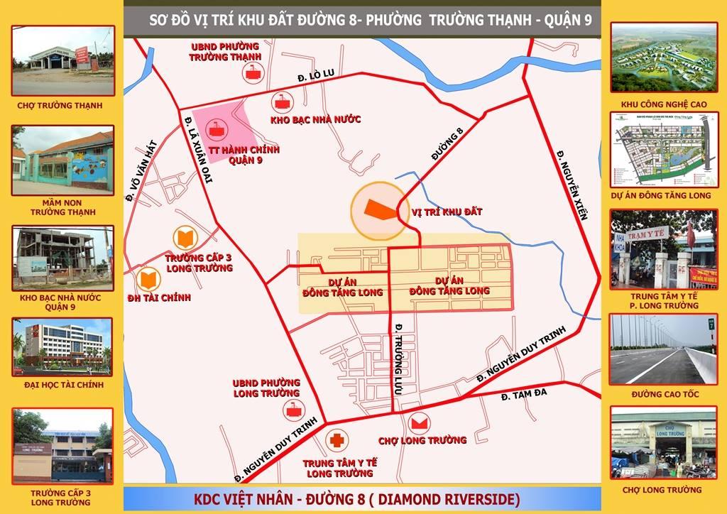Tiện ích dự án Việt Nhân Diamond Riverside