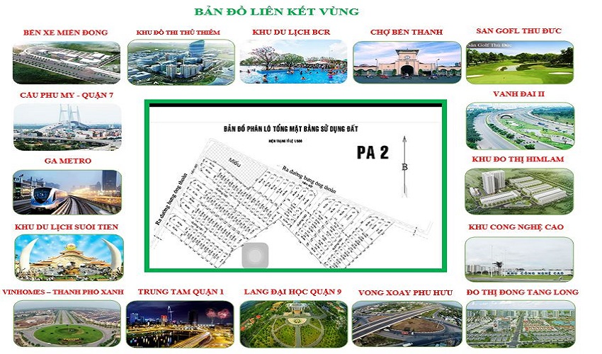 vị trí dự án Samsung Village