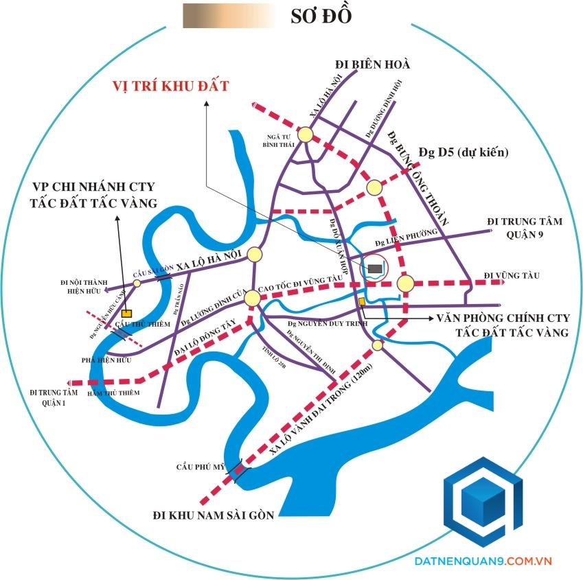 Đất nền Khu dân cư Phú Nhuận phường Phước Long B