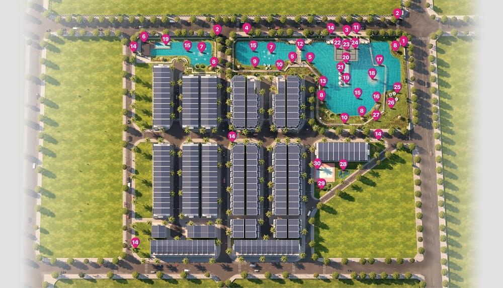 Danh sách các dự án đất nền phường Trường Thạnh